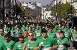 W Biegnij Warszawo na ulice stolicy wyruszyło 15 tys. amatorów biegania