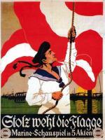 Plakat filmu propagandowego reklamującego c.k. flotę