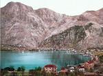 Austro-węgierski port Cattaro (Kotor)' w Dalmacji, pocztówka sprzed pierwszej wojny światowej