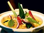 Japoński makaron Kimchi Udon (warszawska Restauracja Dziki Ryż)