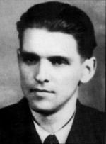 """Kpt. Zbigniew Kulesza """"Młot"""", pierwszy  komendant """"XVI"""" Okręgu NZW (1946 – 1947)"""