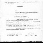 Rozkaz dowództwa ROAK nakazujący  przeprowadzenie  rozpoznania wywiadowczego wyborów do Sejmu Ustawodawczego, które zostały sfałszowane przez komunistów