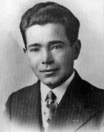 """Por. Stanisław  Kociszewski """"Plon"""", """"Górka"""", komendant  Obwodu ROAK Pułtusk, zamordowany  w więzieniu praskim  15 lipca 1946 r."""