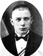 """Kazimierz Artyfikiewicz """"Trzynastka"""", dowódca oddziału  samoobrony Obwodu ROAK Przasnysz, poległ w walce z NKWD  22 lipca 1945 r.  we wsi Lipa"""