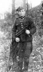 """Marceli Sarnowski  """"Cichy"""", dowódca  oddziału partyzanckiego  w batalionie ROAK """"Znicz"""""""