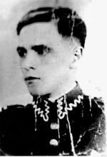 """Por. Czesław Mocek  """"Spirytus"""", dowódca oddziału partyzanckiego"""