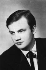 """Antoni Szczepański: """"Moje zdjęcie z roku 1965. Praktycznie od tego roku wrota moich młodzieńczych lat zatrząsnęły się""""."""