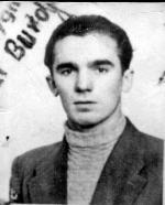 """Piotr Burdyn """"Poręba"""", dowódca najdłużej  działającego  na Suwalszczyźnie  oddziału partyzanckiego"""