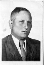 """Stanisław Marchewka """"Ryba"""", fot. z drugiej połowy lat 40. Poległ w walce z UB 3 marca 1957 r. w Jeziorku"""