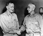 Kontradm. McCain i kontradm. Fitch, 1942 r.