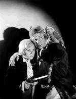 """Ekranizacja """"Wyspy skarbów""""  z 1934 r. Jako idealną opowieść wychowawczą dla chłopców rekomendował ją w recenzji  Graham Greene"""