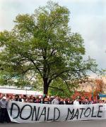 Protest kibiców Legii przeciw zamykaniu stadionów