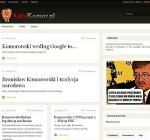 Serwis AntyKomor.pl powstał dwa dni po drugiej turze wyborów prezydenckich. Średnio dziennie odwiedzało  go 300 – 400 osób