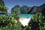 "Hollywoodzcy producenci umieścili  na jednej  z wysp Phi Phi akcję filmu ""Niebiańska plaża""  z Leonardo  Di Caprio"