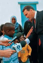 – Dziękujemy. Niech Bóg wam błogosławi – mówili uchodźcy