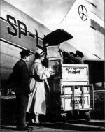Załadunek transportu krwi dla Węgrów. Październik 1956 r.