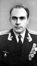 Kpt. Władymir Kobzar, dowódca  K-129