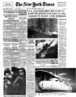 """""""New York Times"""" 19 marca 1975 r. informował czytelników o tajnej operacji CIA na Pacyfiku"""