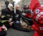 Symulacja wypadku z ofiarami w Al. Jerozolimskich