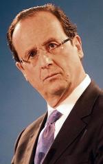 Francois Hollande (sondaż: 30 proc.)