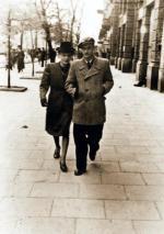 Barbara Drapczyńska i KrzysztofBaczyński, Warszawa, 1943 r. U Orbitowskiego przeżyli Powstanie, mają syna