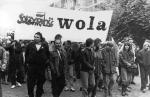 Jak odnaleźli się ludzie Woli w wolnej, a okrągłostołowej Polsce? Na zdjęciu manifestacja w maju 1989 r.