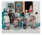 "Radek Szlaga, ""Family Appreciacion"", olej/płótno,  110 x 135, 2011 r."