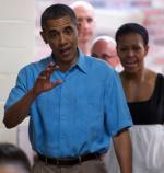 Prezydent Obama przed wylotem z Hawajów do Waszyngtonu