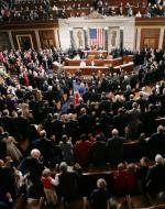 Zaprzysiężenie Kongresu (na zdjęciu 110., dziś – 113.)