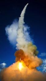 Test antyrakiety SM-2 przeprowadzony w 2008 roku