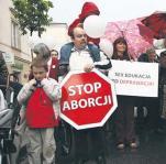 Organizacje prolife próbują, na ogół bezskutecznie, zmusić do działania w sprawie nielegalnego importu policję i prokuraturę. Na zdjęciu IV Marsz dla Życia i Rodziny w 2009 r. w stolicy
