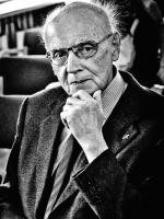 """Wojciech Kilar podczas przekazania """"Uwertury uroczystej"""" Muzeum Historii Katowic, 2011"""
