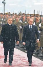 Pierwsza oficjalna wizyta Donalda Tuska na Węgrzech