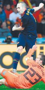 Andres Iniesta – jego gol dał Hiszpanom mistrzowski tytuł