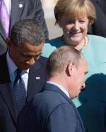 Barack Obama, Władimir Putin i Angela Merkel na szczycie grupy G20 we wrześniu ubiegłego roku w Petersburgu. Było to ostatnie spotkanie w tym gronie