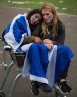 Zrozpaczone zwolenniczki niepodległości Szkocji