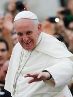 Papież przed wczorajszą mszą świętą w Tiranie.  Na cel pierwszej europejskiej pielgrzymki Franciszek wybrał  w większości muzułmańską Albanię