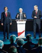Zbigniew Ziobro, Jarosław Kaczyński  i Jarosław Gowin wystąpili wspólnie  tylko raz.