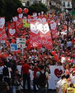 Niedzielna demonstracja przeciwników aborcji w Madrycie