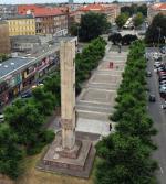 Pomnik Wdzięczności stoi w centrum Szczecina