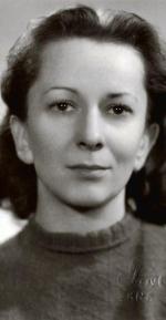 Wisława Szymborska, zdjęcie z 1948 roku