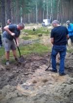 Nie tylko DNA. Ciało Zbigniewa K. odnaleziono w lesie  w Kujawsko-Pomorskiem po dziewięciu latach od jego zaginięcia m.in. dzięki wsparciu archeologów wykonujących odwierty w ziemi