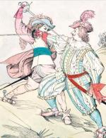 Od 700 zł rozpocznie się licytacja ilustracji do przygód trzech muszkieterów