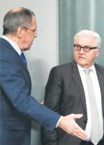 Nie ma podstaw do optymizmu – powiedział we wtorek  po spotkaniu  z Siergiejem Ławrowem szef niemieckiej dyplomacji Frank-Walter Steinmeier