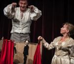 Juliusz Chrząstowski (Orcio)  iDorota Segda (Barbara Niechcic)  wkrakowskim spektaklu