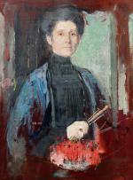 Obraz Olgi Boznańskiej z kolekcji Krzysztofa Musiała