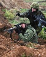 Szczecińscy sztabowcy mogliby np. dowodzić operacją NATO  w krajach nadbałtyckich (na zdjęciu żołnierze litewscy  ćwiczą w Polsce)