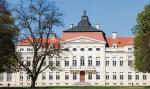 Pałac w Rogalinie powstał w latach 70. XVIII w.