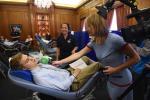 Przynajmniej 3 tysiące Polaków oddało krew brytyjskiej służbie zdrowia. Chcą podkreślić swój wkład w rozwój kraju