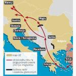 Główna droga migracji do Europy